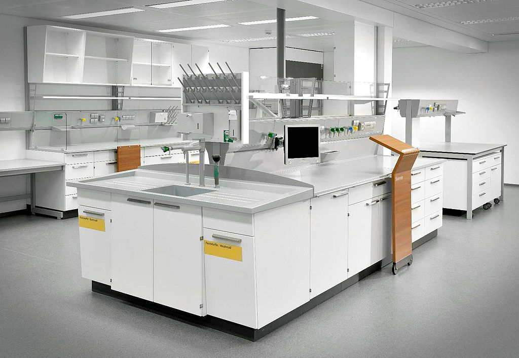 Bild: Laborkomponenten