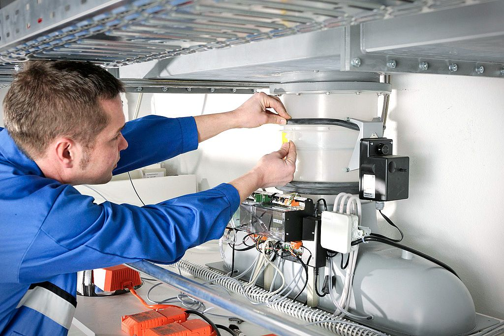 Electrical tests and mechanical services checks